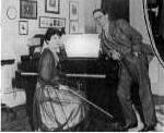 Maud Powell & Godfrey Turner at home in Gramercy Park