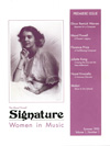 Signature - Volume 1 Number 1